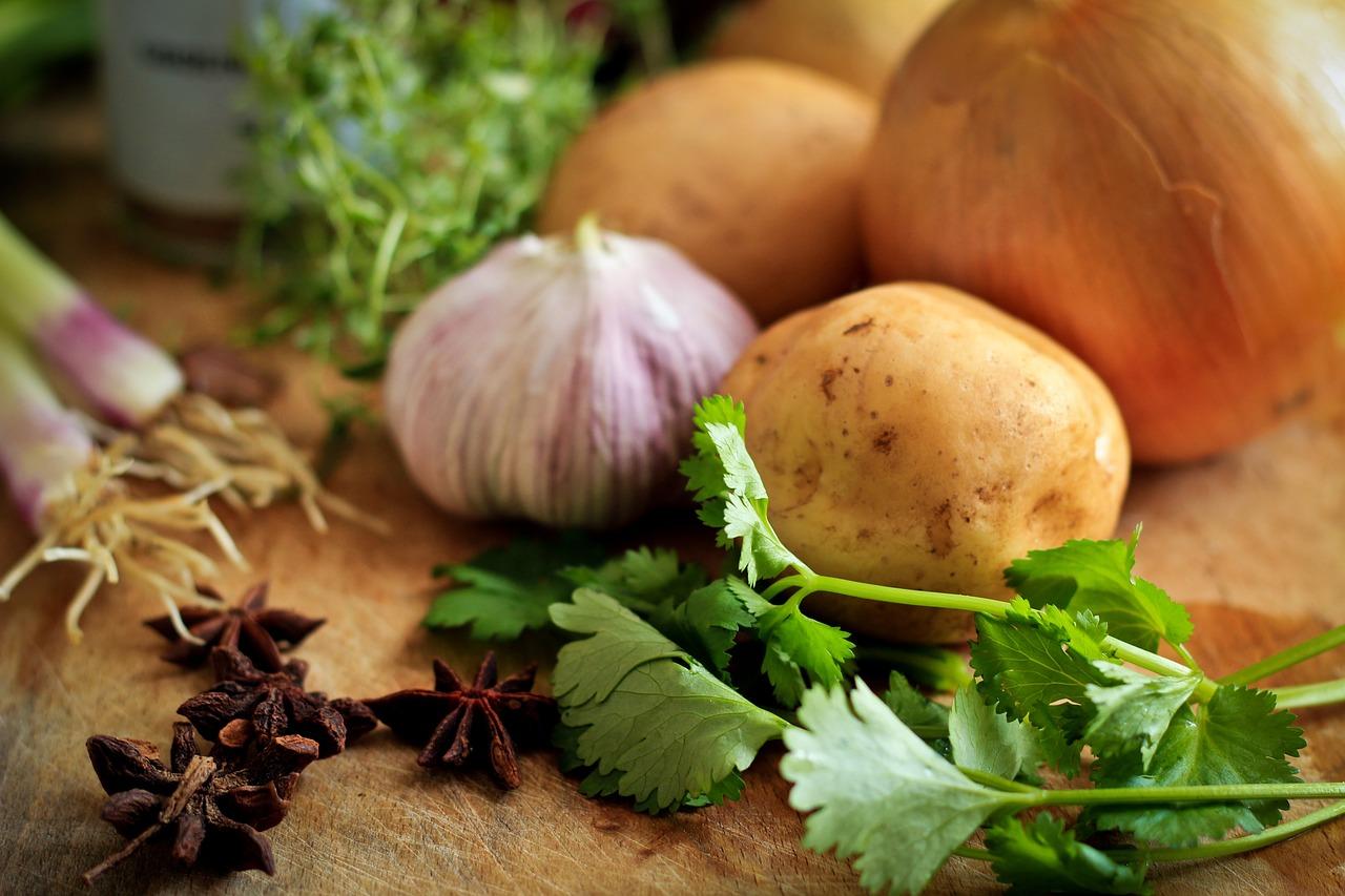 cebolla puerro y patata