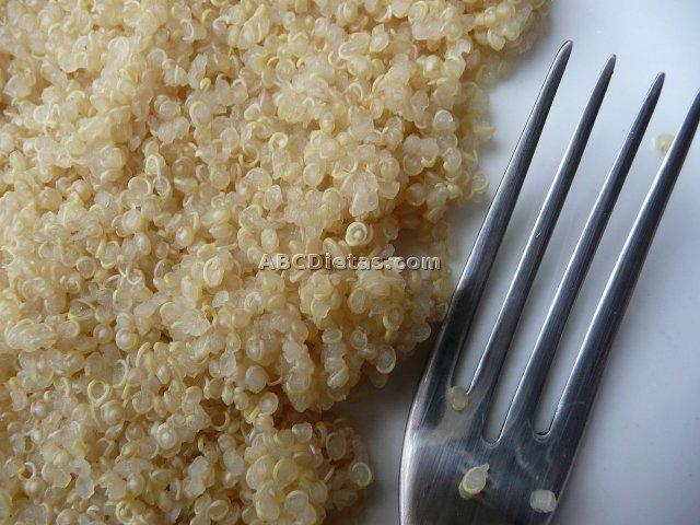 Cuscús de quinoa básico