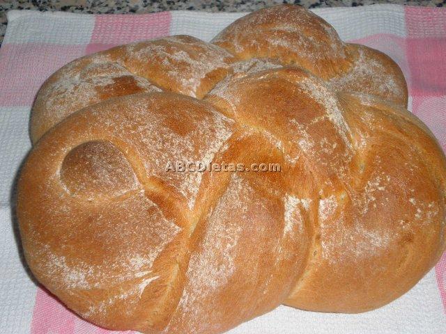 Pan blanco casero sabroso y aromático