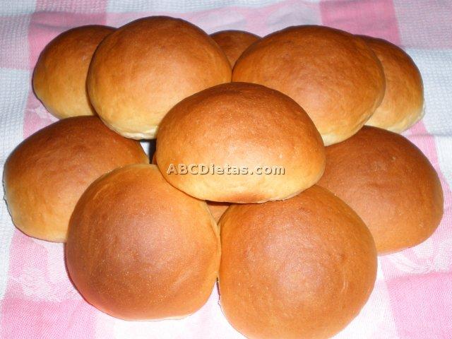Pan o panecillos de Viena