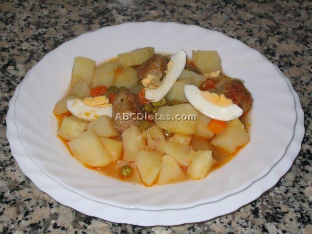 Patatas estofadas