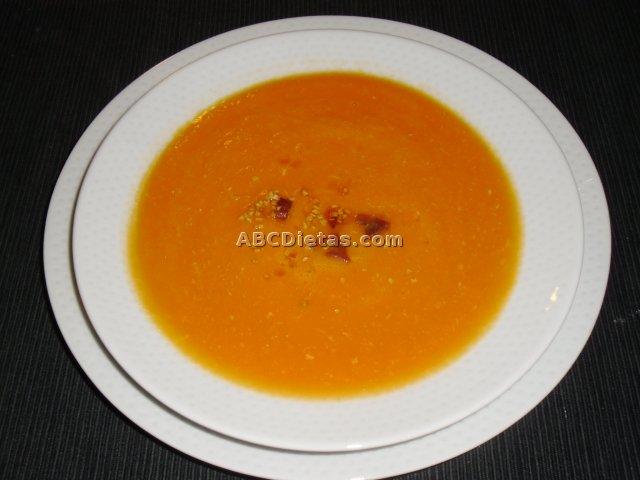 Sopa de calabaza o sopa de zapallo
