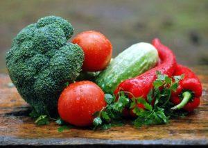 Dieta de verduras hortalizas y frutas
